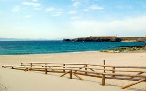 playa de tarifa chica